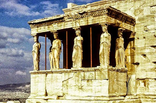 Erechtheion, Athens Acropolis