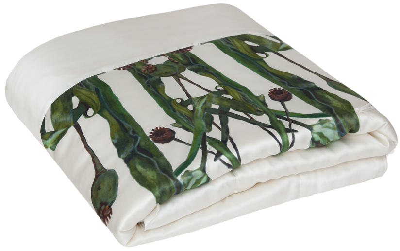 Hovey Design for kumi kookoon silk blanket