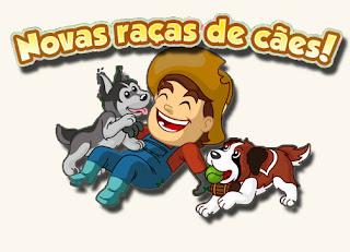 Novas raças de cães