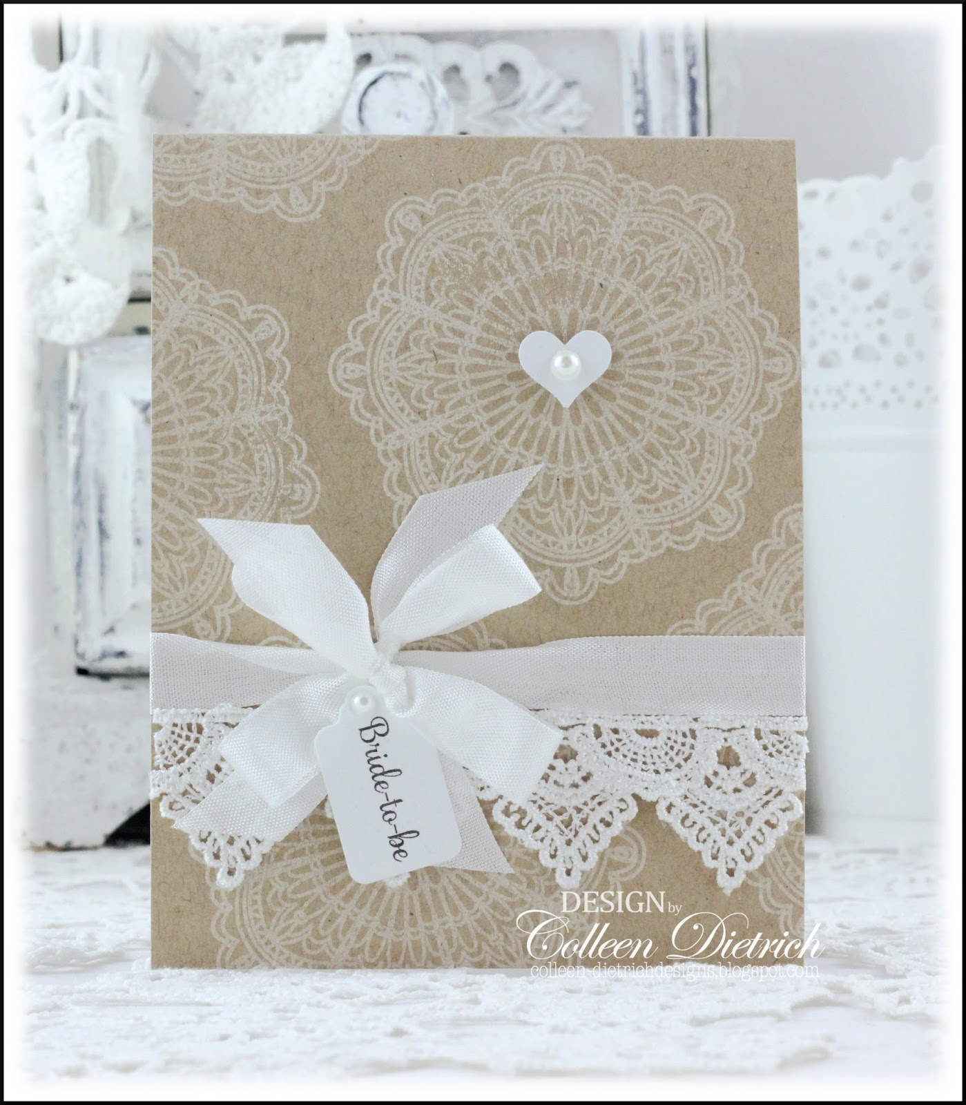 Burlap-and-lace Inspired Bridal Shower   Colleen Dietrich Designs