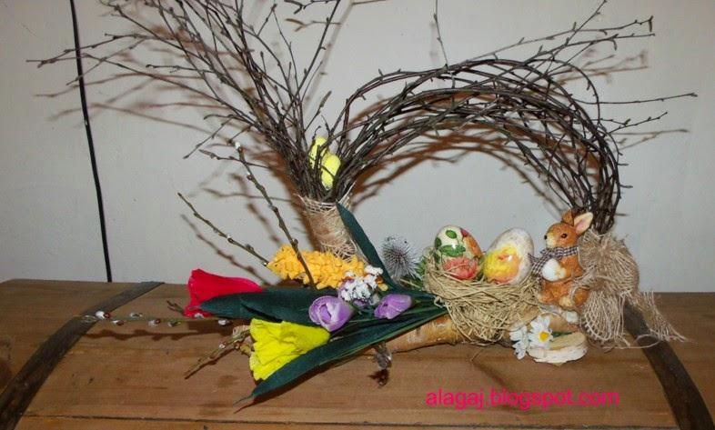 Kwiaty I Cóż Więcej Potrzeba Stroiki Wielkanocne
