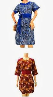 model pakaian batik