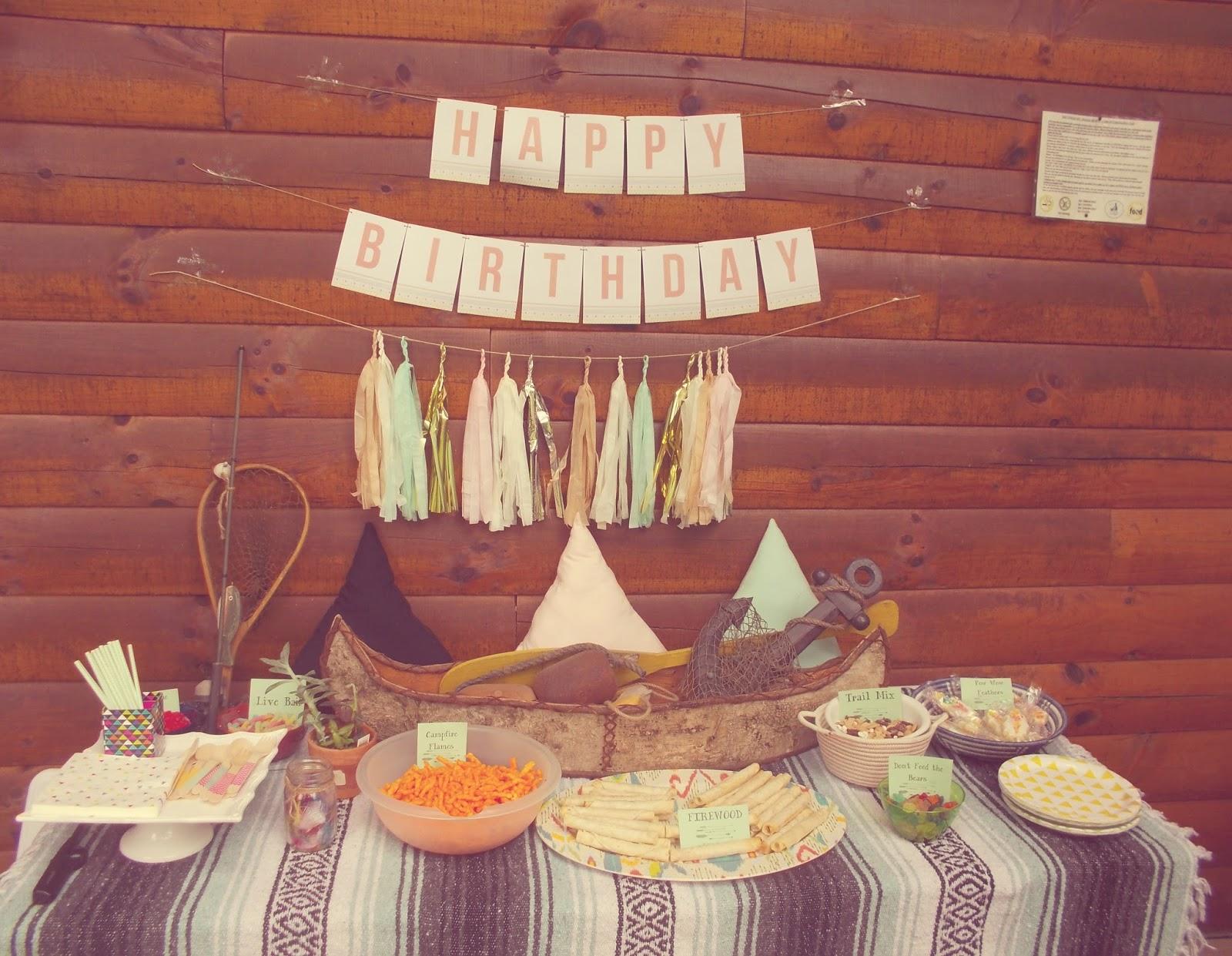 Little Pow Wow Cabin Party