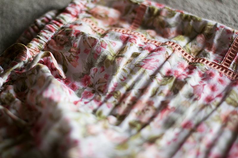 Oysho shorts ladies pyjamas floral pattern