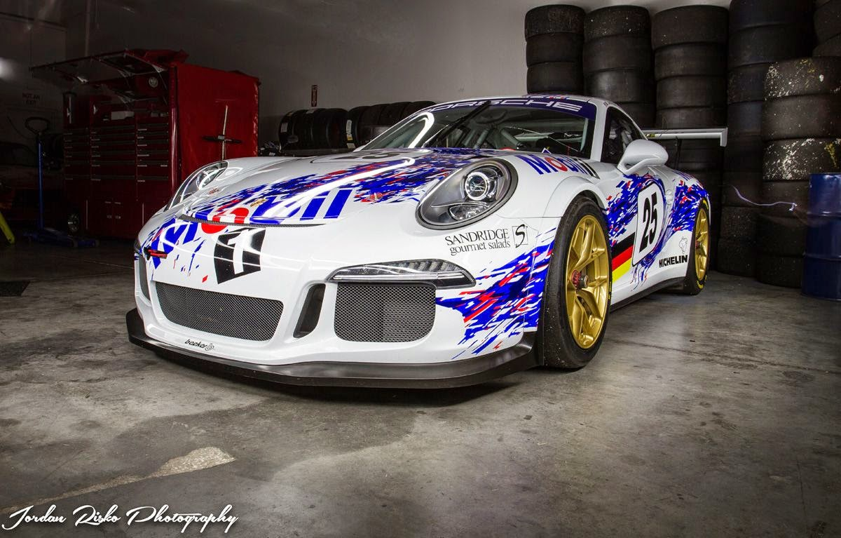 Porsche 991 Gt3 Cup Car With Mobil Livery And Hre Wheels