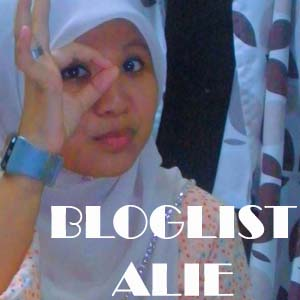 'AKU JOIN BLOGLIST ALIE'