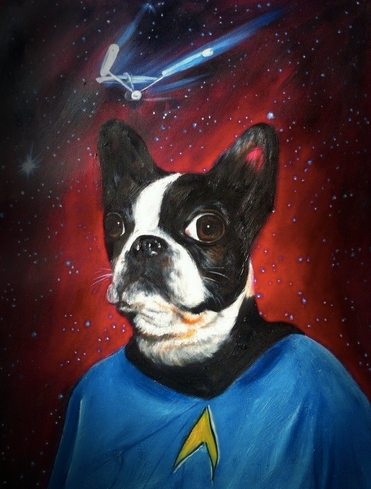 14-The-Trekkie-Splendid-Beast-Your-Animal-Friend-on-an-Oil-Painting-www-designstack-co