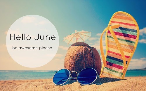 So  hello  June  Be awesome please   and remind me to notice Hello June Images