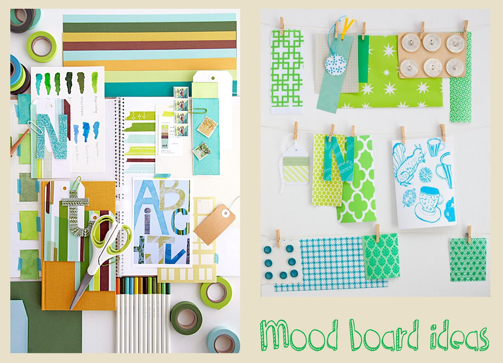 Curious clare built environment mood boards tutorial for Board of ideas