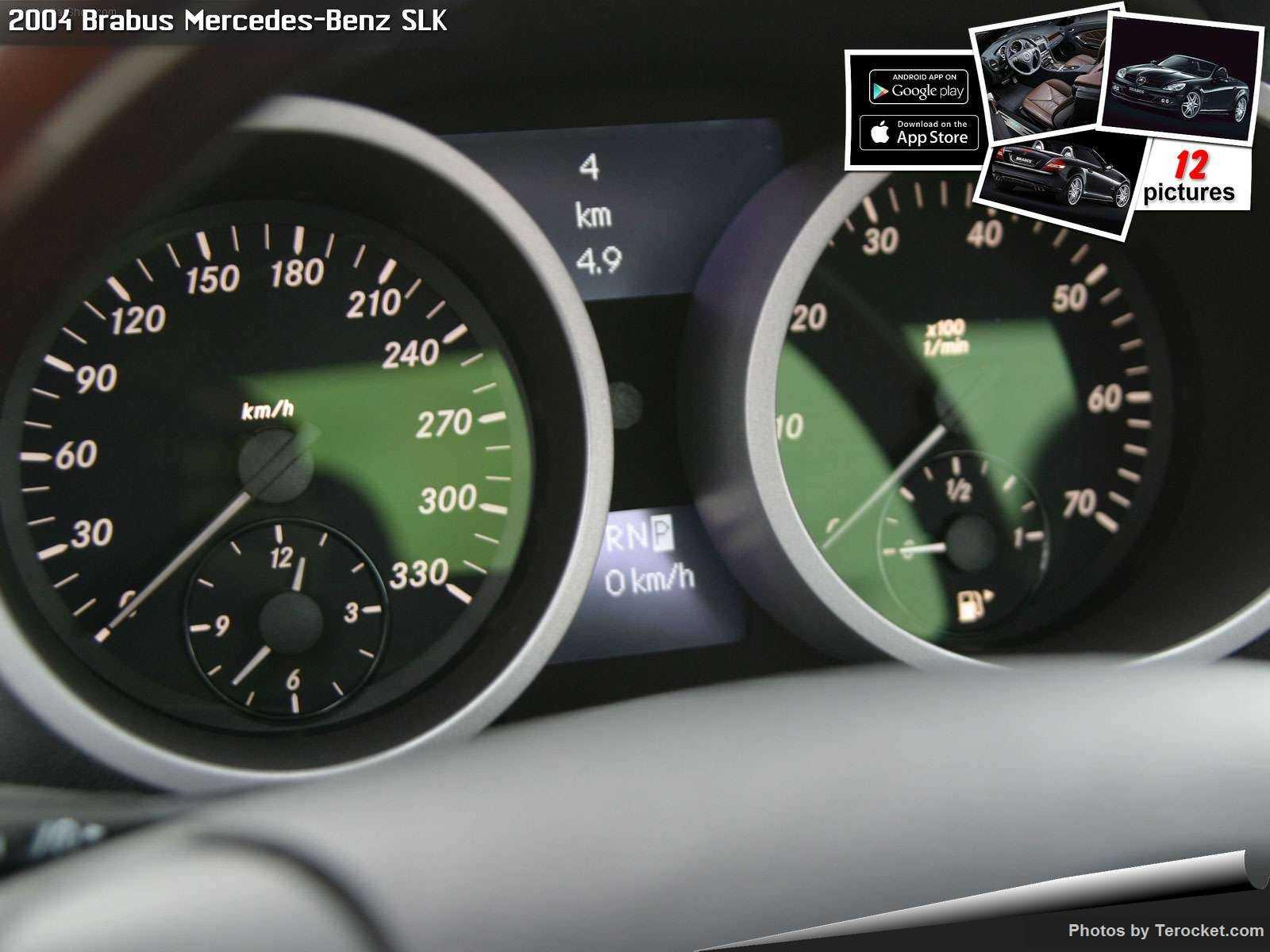 Hình ảnh xe ô tô Brabus Mercedes-Benz SLK 2004 & nội ngoại thất
