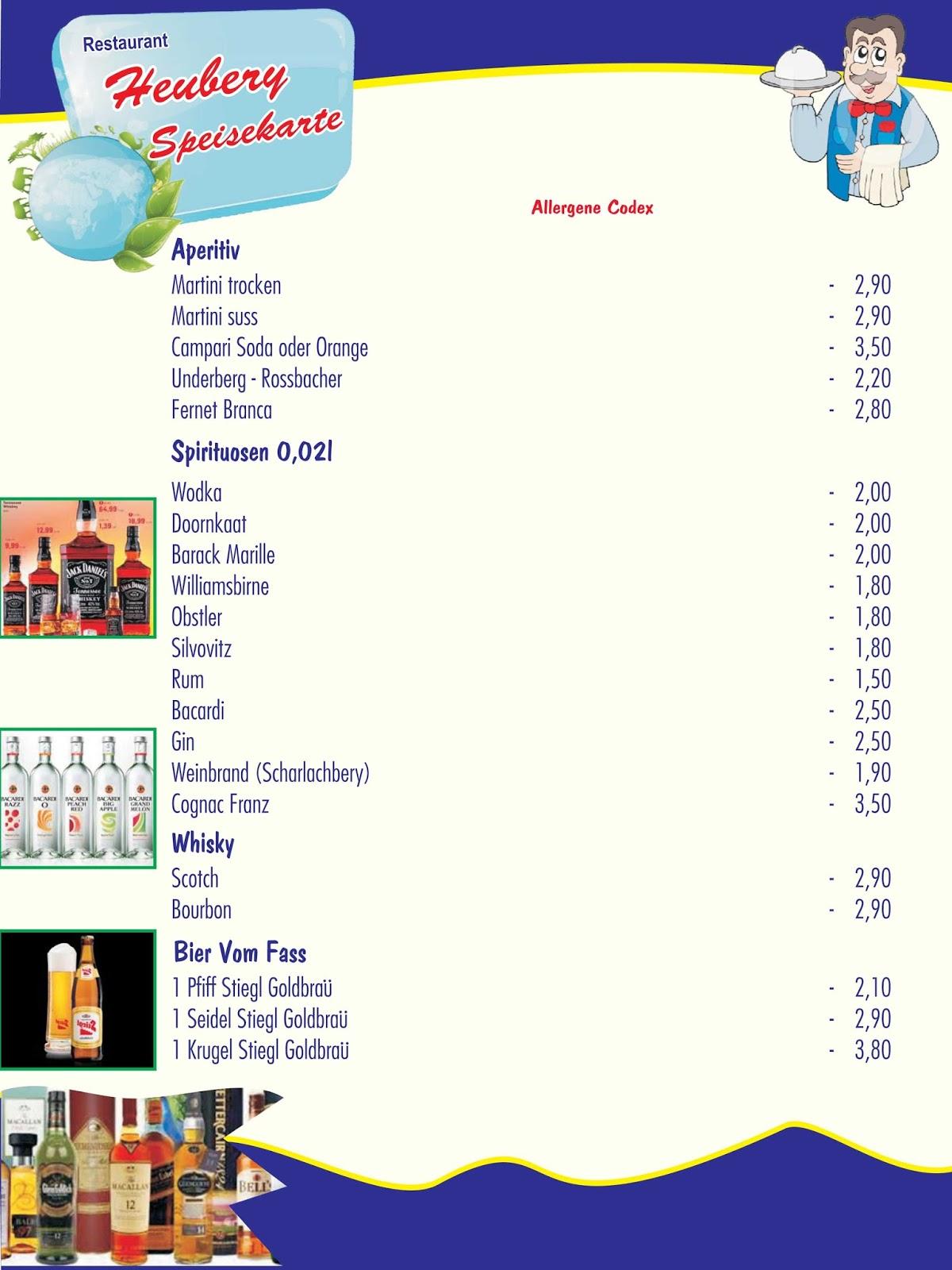 Restaurant am Heuberg 1170 Wien ☎ +43 1 48 98 210 Süd Indische ...