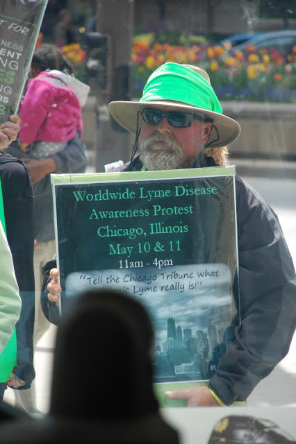 Chicago Lyme Protest 2013