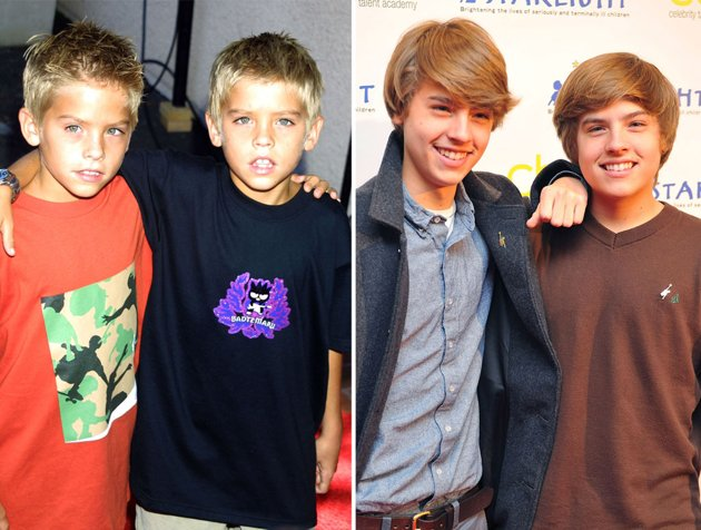 dylan and cole of cole and dylan sprouse dylan and cole sprouse nowDylan And Cole Sprouse Then And Now 2014