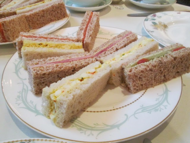 Lemon verbena lady 39 s herb garden for Club sandwich fillings for high tea