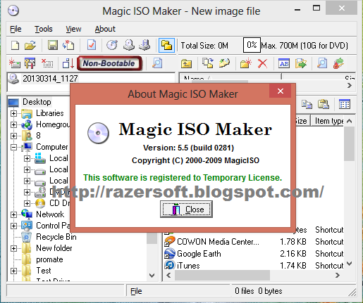 key magic iso maker 5.5 build 0281