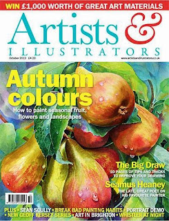 Artist and Illustrator Magazine October 2013