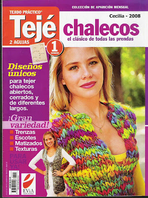 Revista: Teje 2 agujas: Chalecos