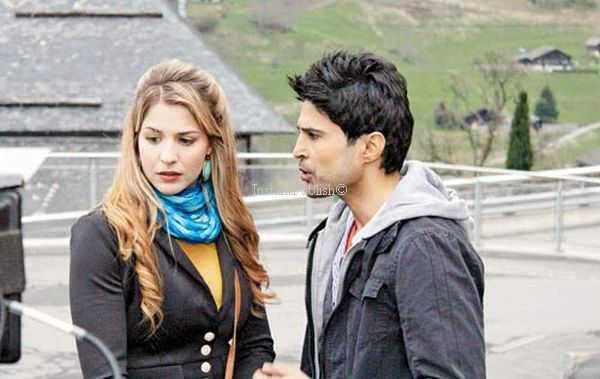 Bollywood Debutant Gemma Atkinson with Rajeev Khandelwal image-picture
