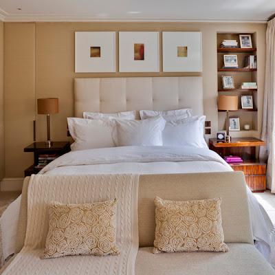 dormitorio matrimonial colores tierra