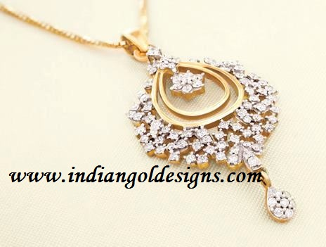 Gold and diamond jewellery designs tanishq beautiful diamond pendant tanishq beautiful diamond pendant aloadofball Choice Image