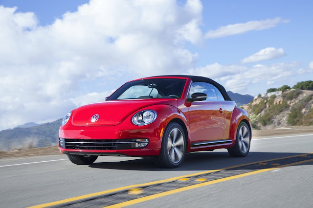 Volkswagen Beetle Cabrio Car Wallpaper