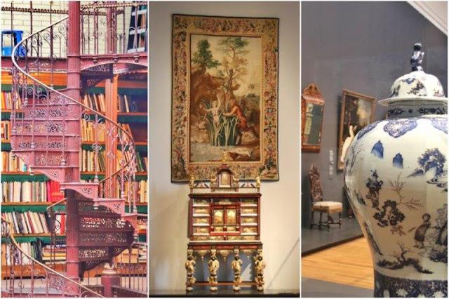 Biblioteca y galerías del Rijksmuseum en Amsterdam