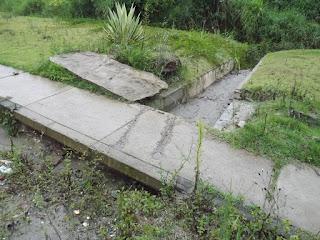 Manilhas para escoamento fluvial que não funcionam