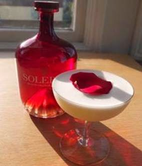 Solerno Liqueur Valentine's Day Cocktail