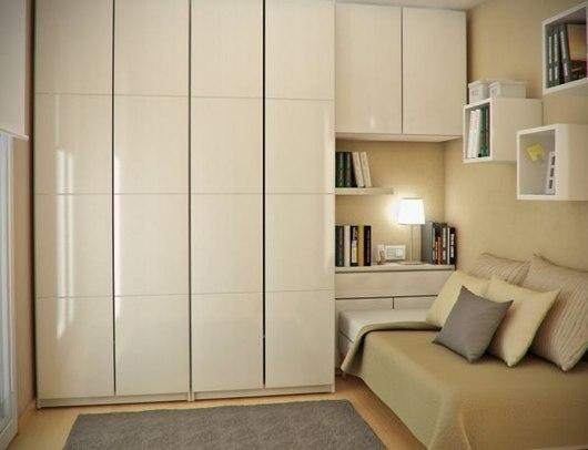 Dormitorios juveniles peque os dormitorios con estilo - Armarios para dormitorios pequenos ...