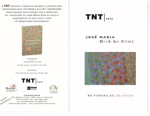 CONVITE TNT | EXPOSIÇÃO E LANÇAMENTO DO LIVRO