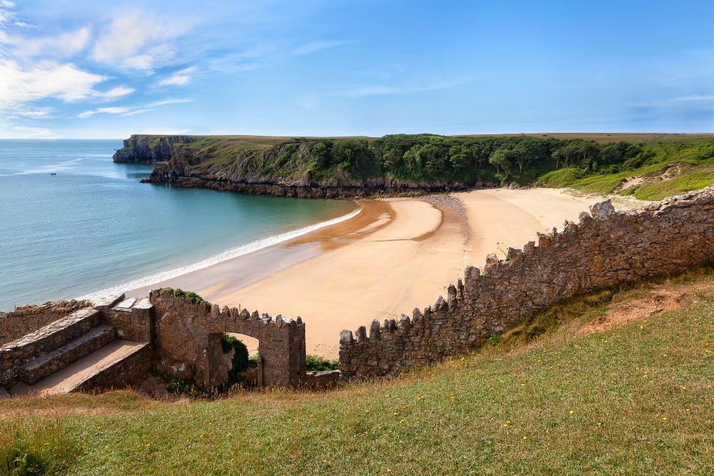 Best Beaches South Wales Map