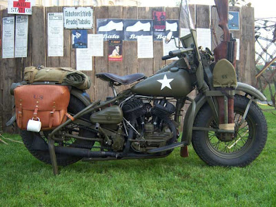 Lo Boy   Bobber Build UK  Harley Davidson WLA 1945