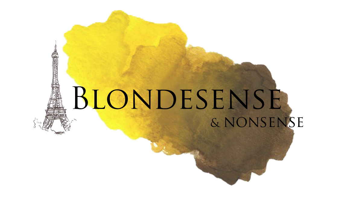 Blondesense and Nonsense