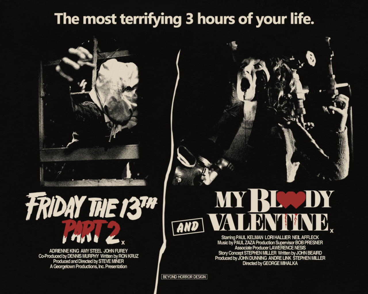 FRIDAY THE 13TH PART 2 / MY BLOODY VALENTINE (1981)