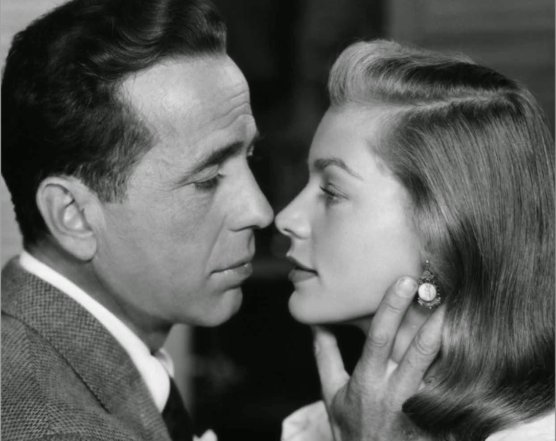with husband humphrey bogart in the 1946 film the big sleep