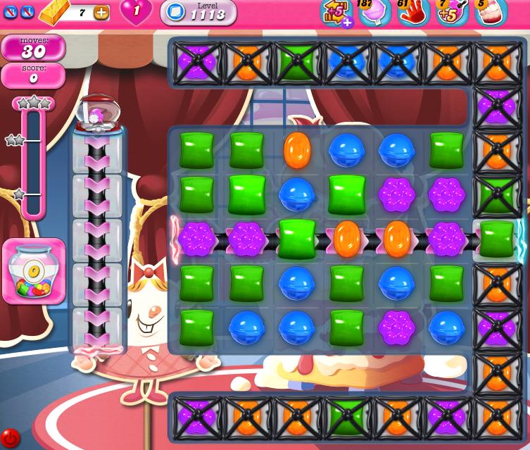 Candy Crush Saga 1113