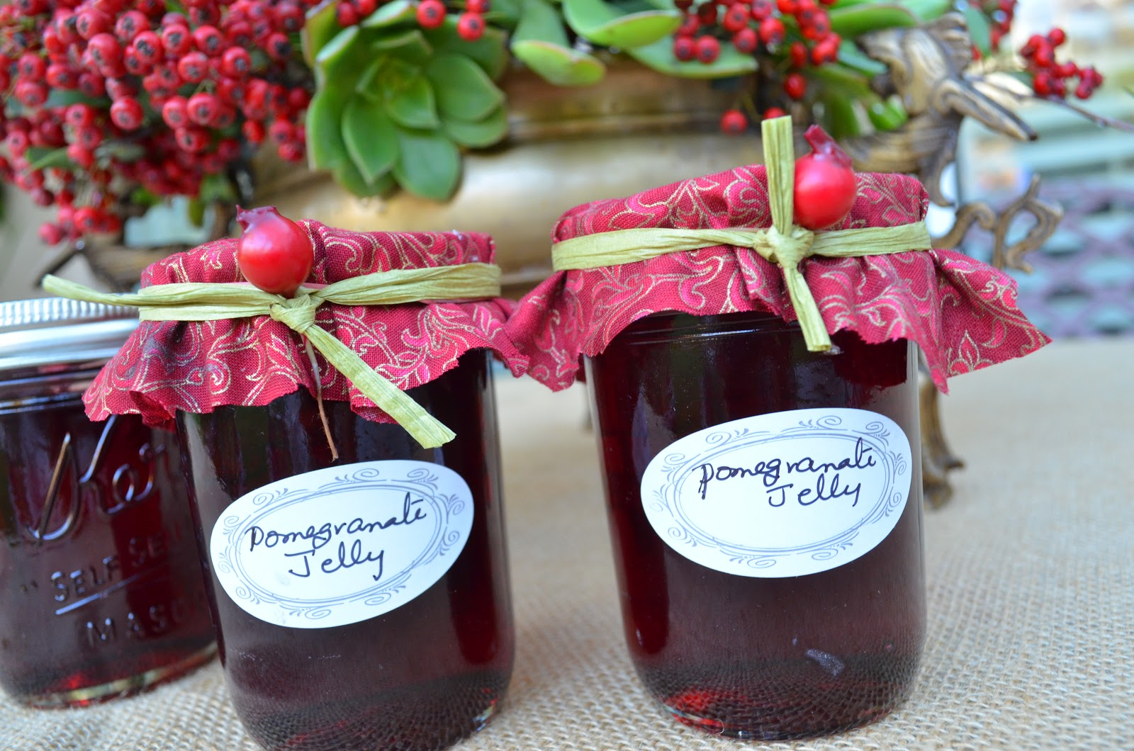 Pomegranate Jelly Recipe — Dishmaps