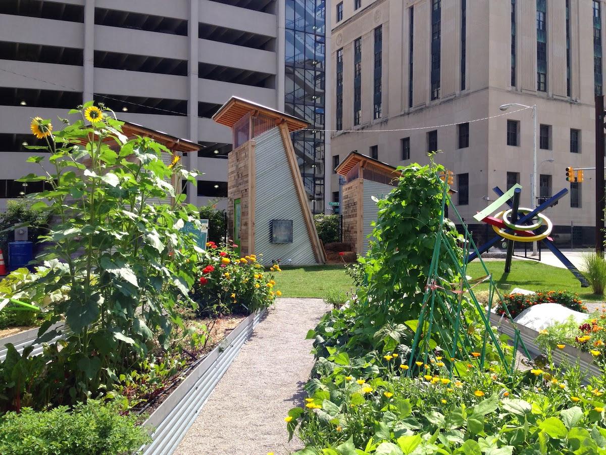 Lafayette Greens Detroit urban garden