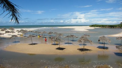 Imagens e fotos do litoral da Praia Bela
