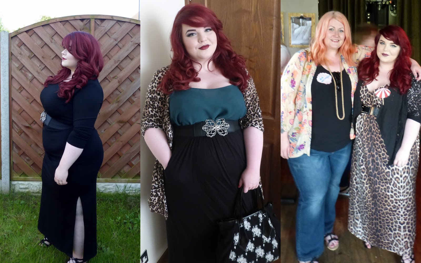 O'right hair - Looks Fantastic results, red hair, plus size, georgina grogan