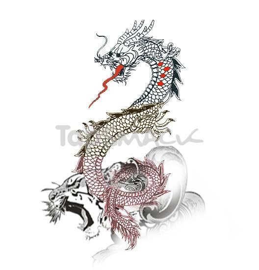 chinese dragon tattoos. chinese dragon tattoo