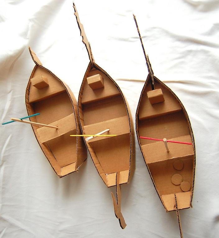 Como Hacer Un Barco De Carton Pasos Plantilla EnrHedando