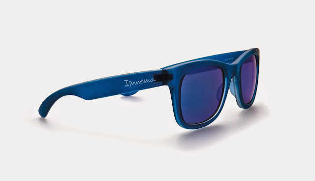 Ipanema blue Wayfarer Sunglasses