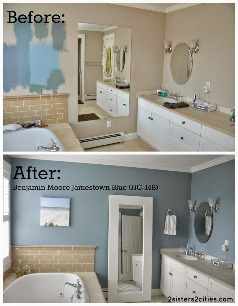 Ma maison au naturel astuces pour r nover une salle de for Bathroom color ideas blue