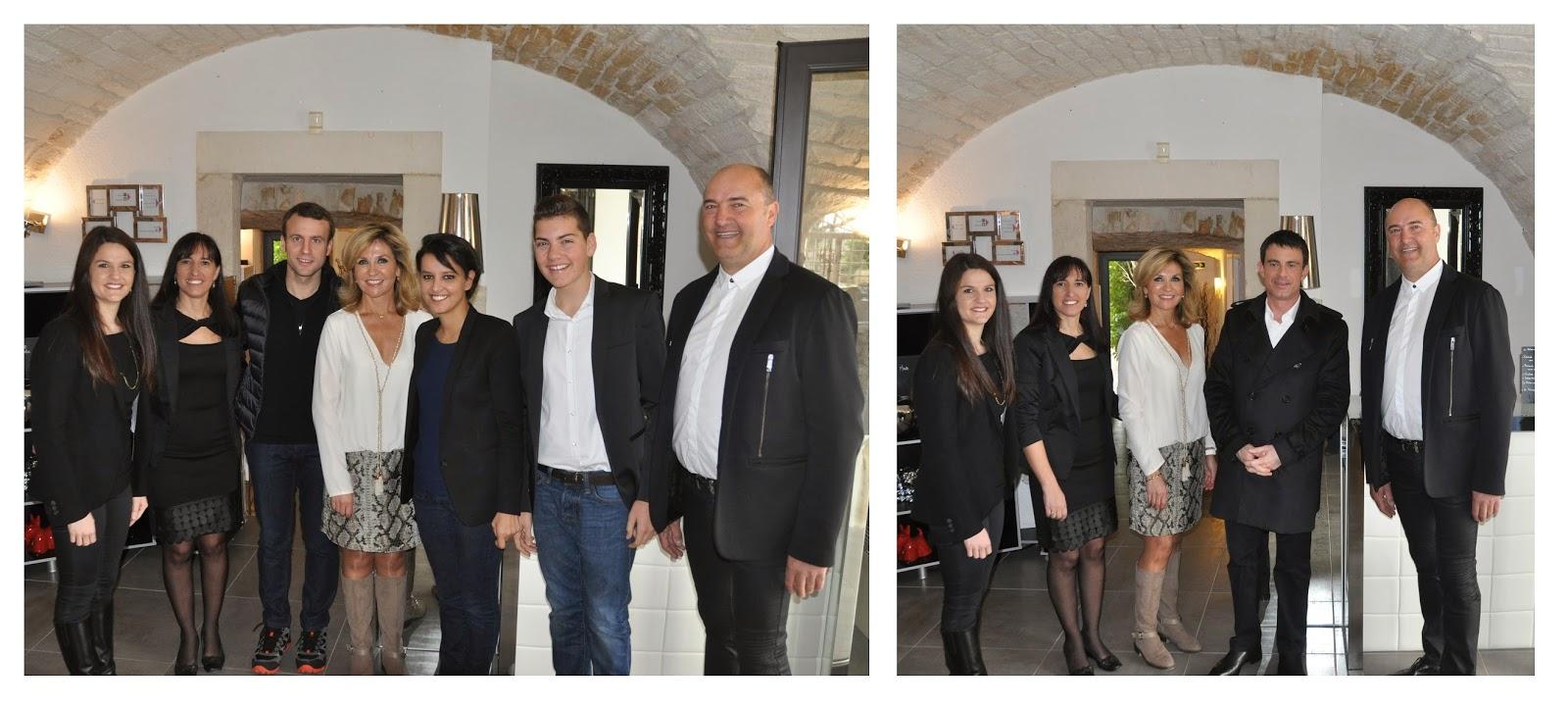 Trois ministres en visite au Mas du Terme