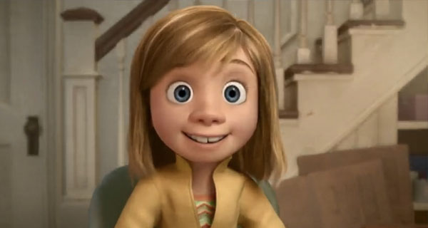 "Riley, la protagonista de ""Inside Out"""
