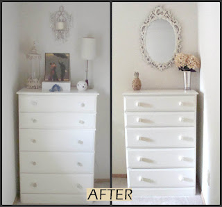 Thrifted dressers makeover: After