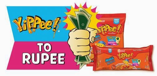 Get Free Paytm cash from Yippee Masala Noodles BuyToEarn