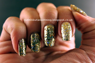 Barry M Yellow Topaz Glitter