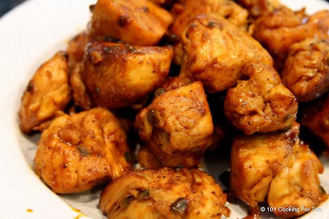 remove the chicken Chicken Carnitas